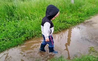 FINDING JOY IN THE MUD